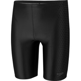 speedo Placement Costume a pantaloncino Uomo, black/oxid grey